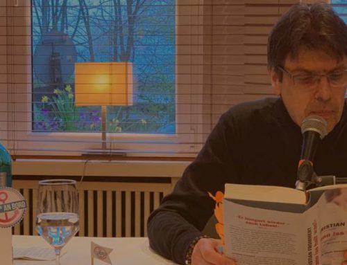 Christian Frommerts Lesung –Eine Veranstaltung, die Mut macht