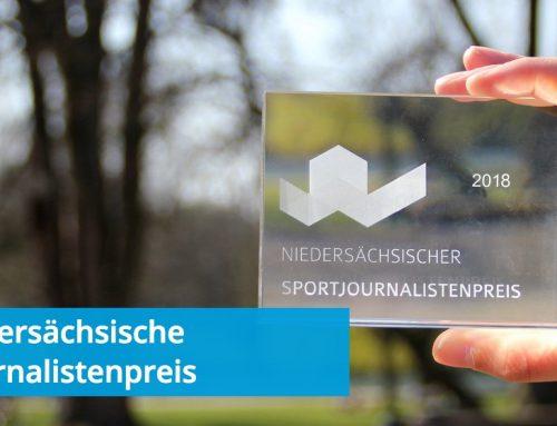 Niedersächsischer Sportjournalistenpreis –Maske und Rütten geehrt